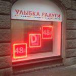 световые панели с обводкой светодиодами
